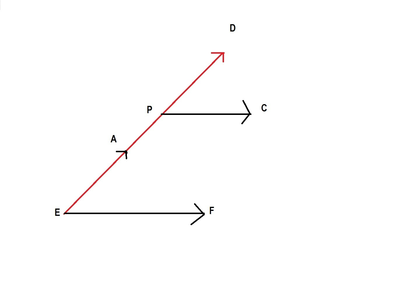 Draw A Diagram In Which The Intersection Of Angle Aef And Dpc How To Download
