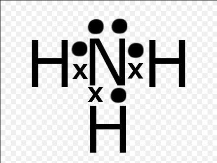 Which Of The Following Is The Correct Lewis Structure For Ammonia