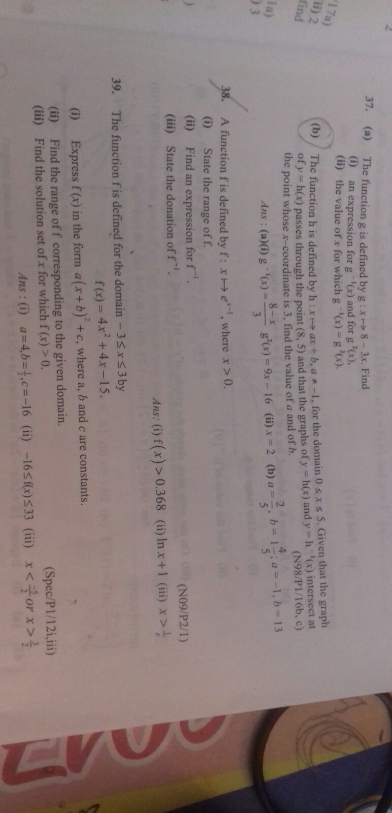 Showme Results For Find Equation When Given Domain 0