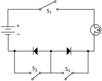 look at the simple circuit illustrated in the figure above whatLook At The Two Circuits Illustrated Above #1