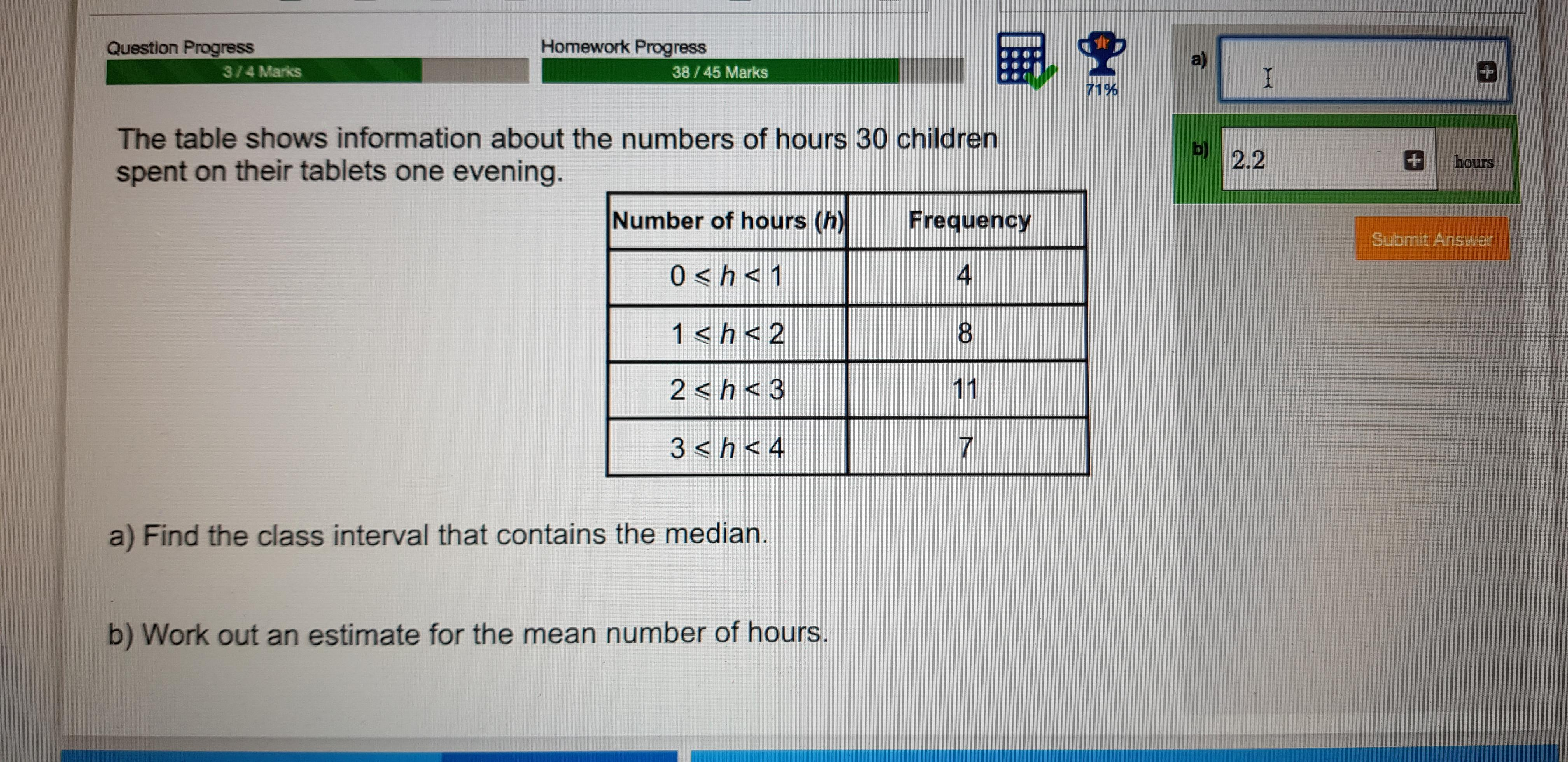 what is the class interval