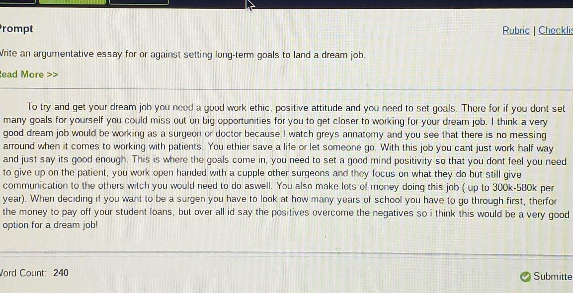Boston college essay