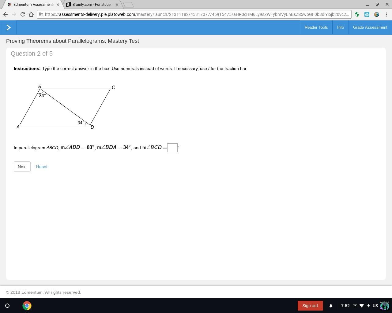 platoweb math 7 answers