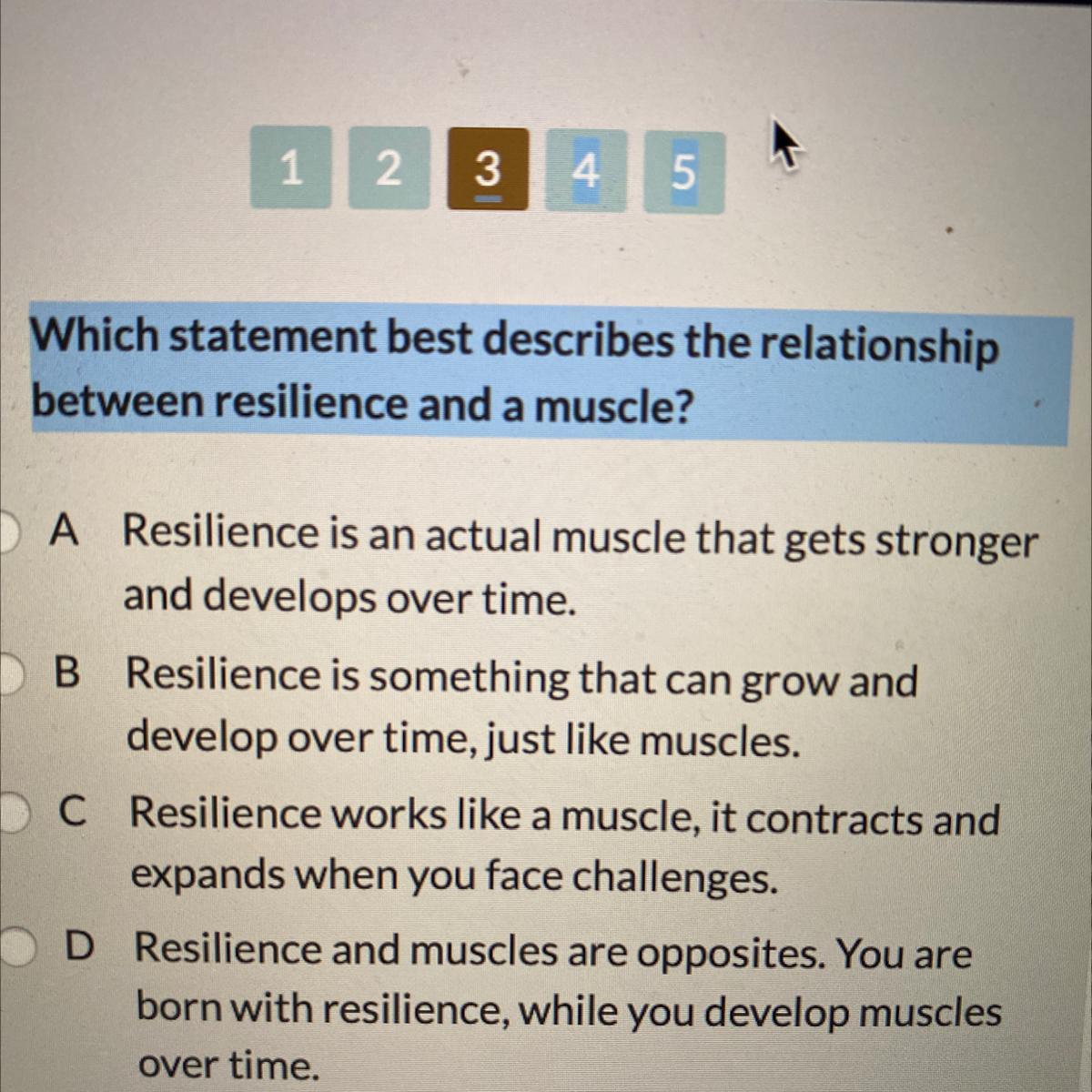URGENT Which statement best describes the relationship ...