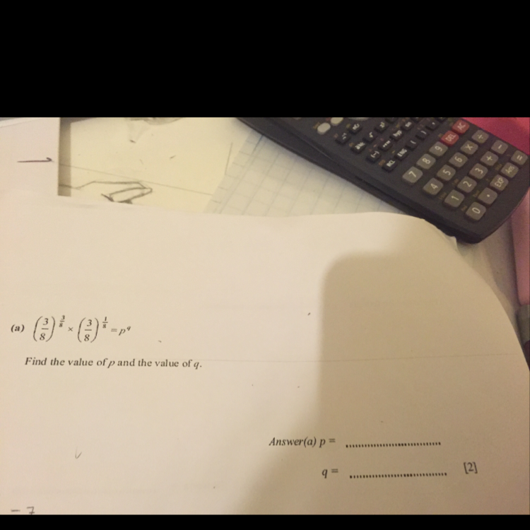 Help with this maths question please?