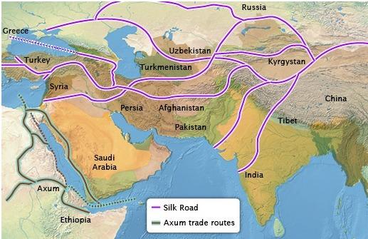 Axum Civilization Map