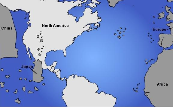 Map Of The World Before Columbus.The Map Would Probably Represent The World As Imagined By 1