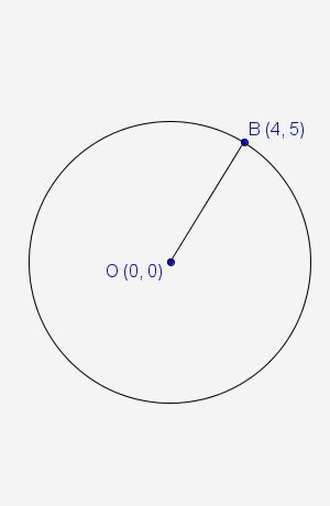 What is the general form of the equation for the given circle ...