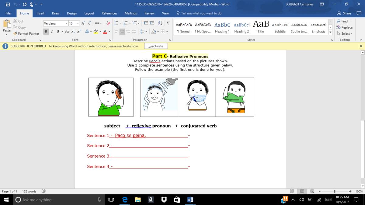 NEED HELP IN SPANISH PLEASE?