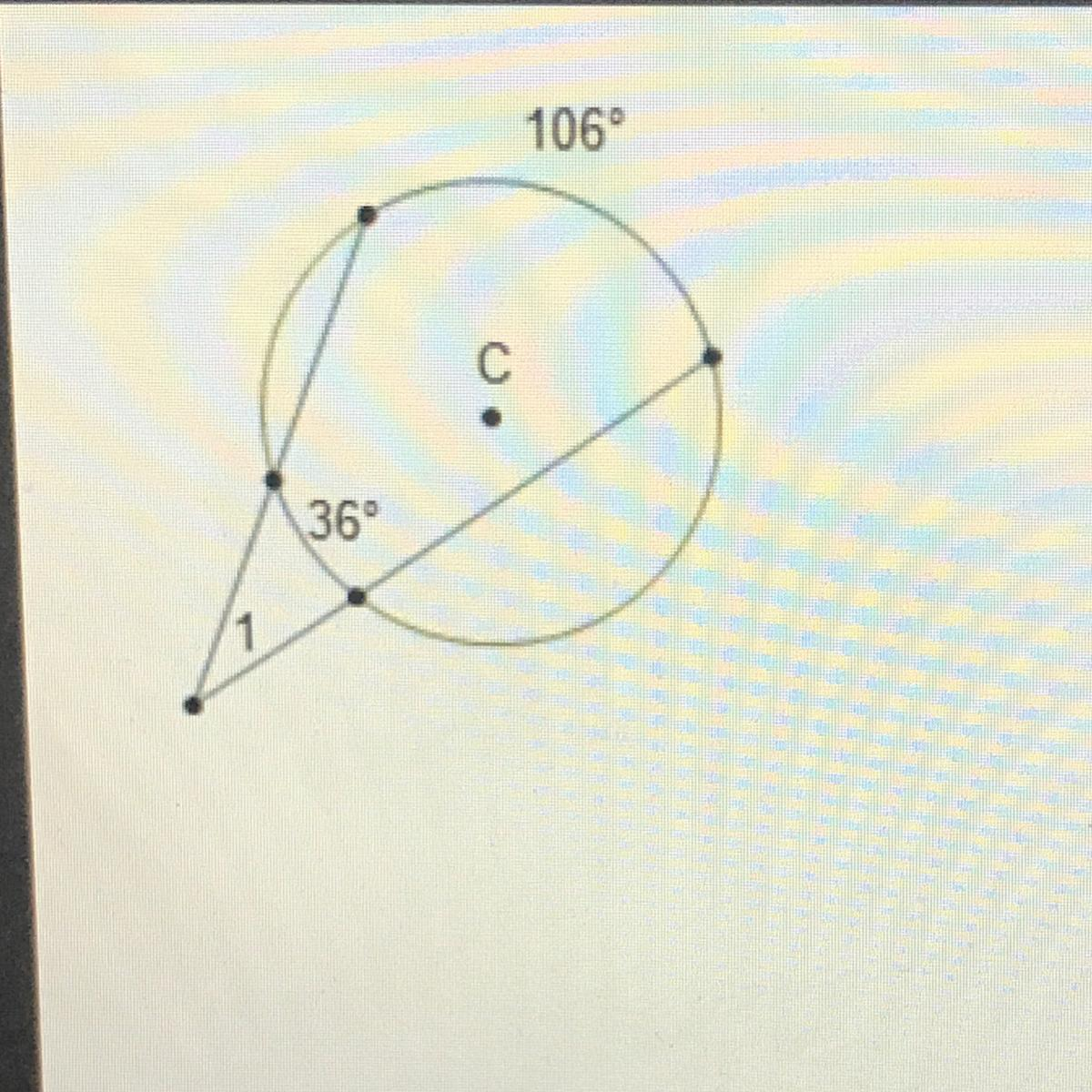 In The Diagram Of Circle C What Is The Measure Of 21 O 17 35 70 710 Brainly Com