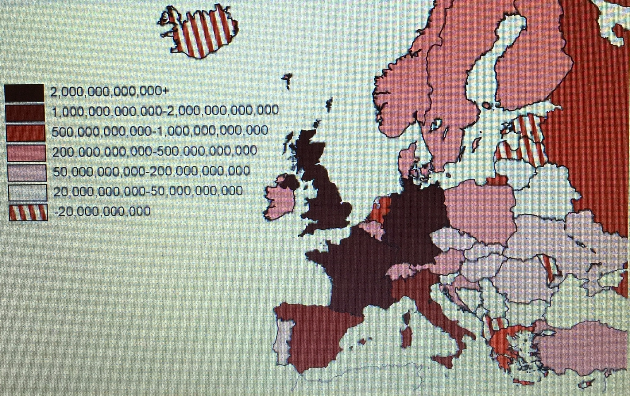 According To The Following Map Of European Countries Color Coded - Us maps that can be color coded
