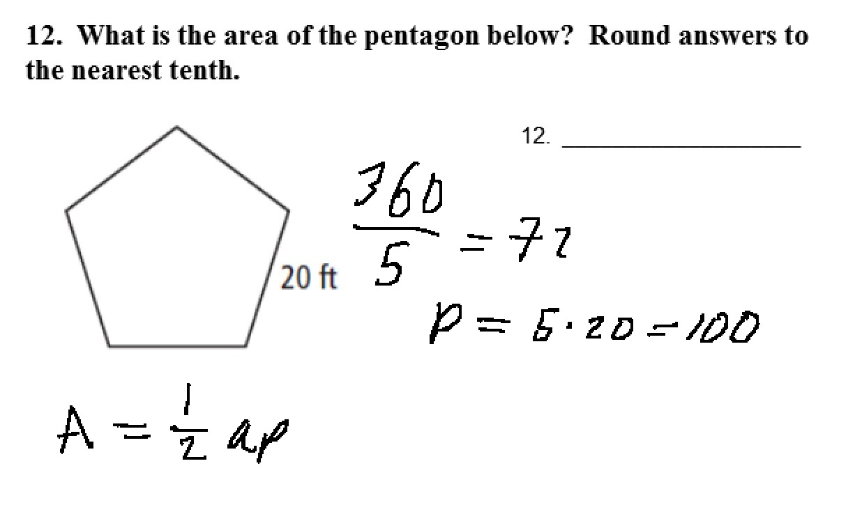 1 How To Find The Area Of A Polygon & Perimeter