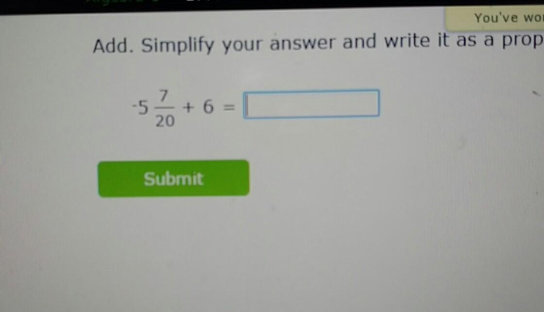 Help me solve this problem