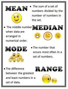 mathematical term mean