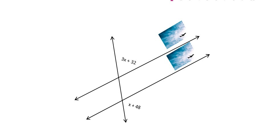 What Is The Value Of X Which Proves That The Runways Are Parallel