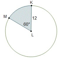 please help!! What is the area of the sector that is not ...