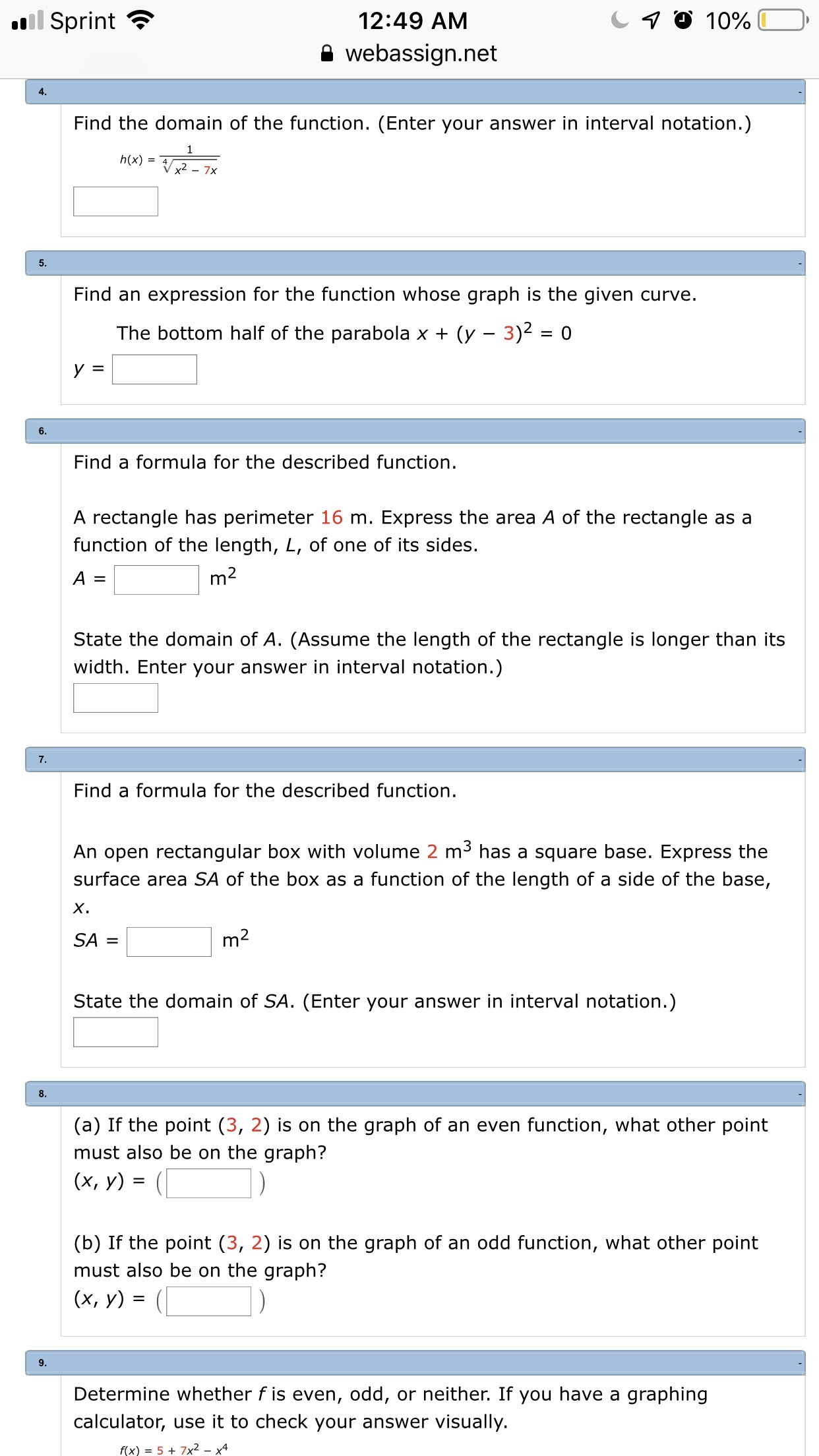 Please Help With The Questions In The Image Brainly Com