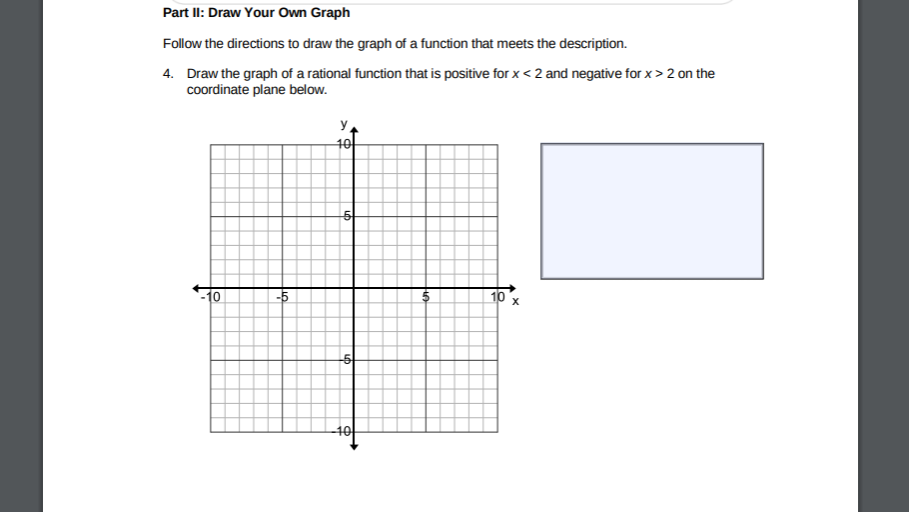 analyzing a graph for each graph below identify any interval s