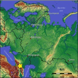 the star on the following map pinpoints what geographical ...