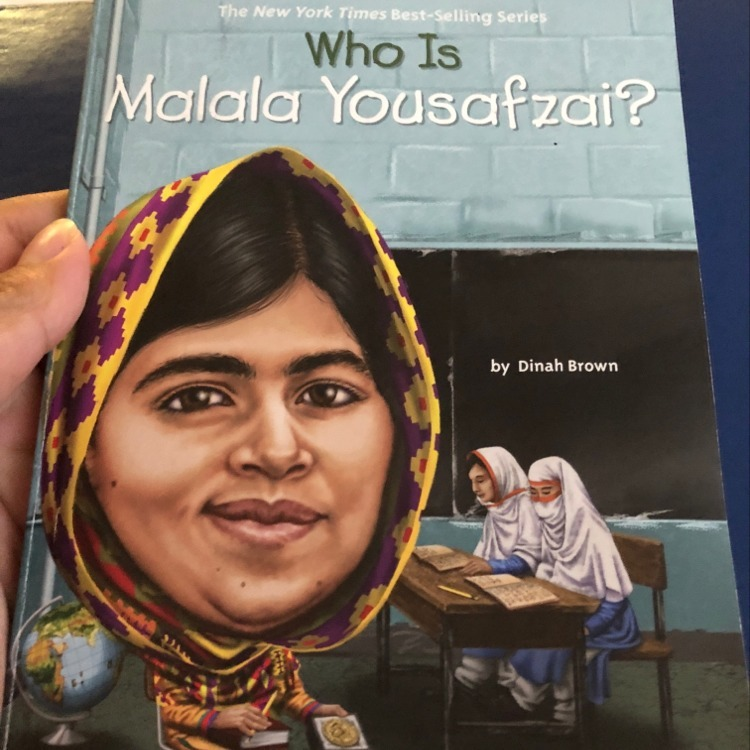 """What is the claim for """"Who is Malala Yousafzai?"""" - Brainly.com"""