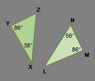 ��a�9�:n�y�*:,�f�XZ���_ΔXYZwasreflectedtoformΔLMN.Whichstatementsaretrueregardingthediagram