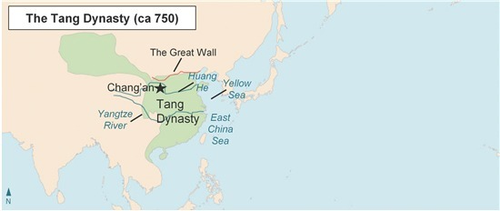 According to this map the tang dynasty was mostly located in according to this map the tang dynasty was mostly located in northern and eastern china northern and western china southern and eastern china sciox Choice Image