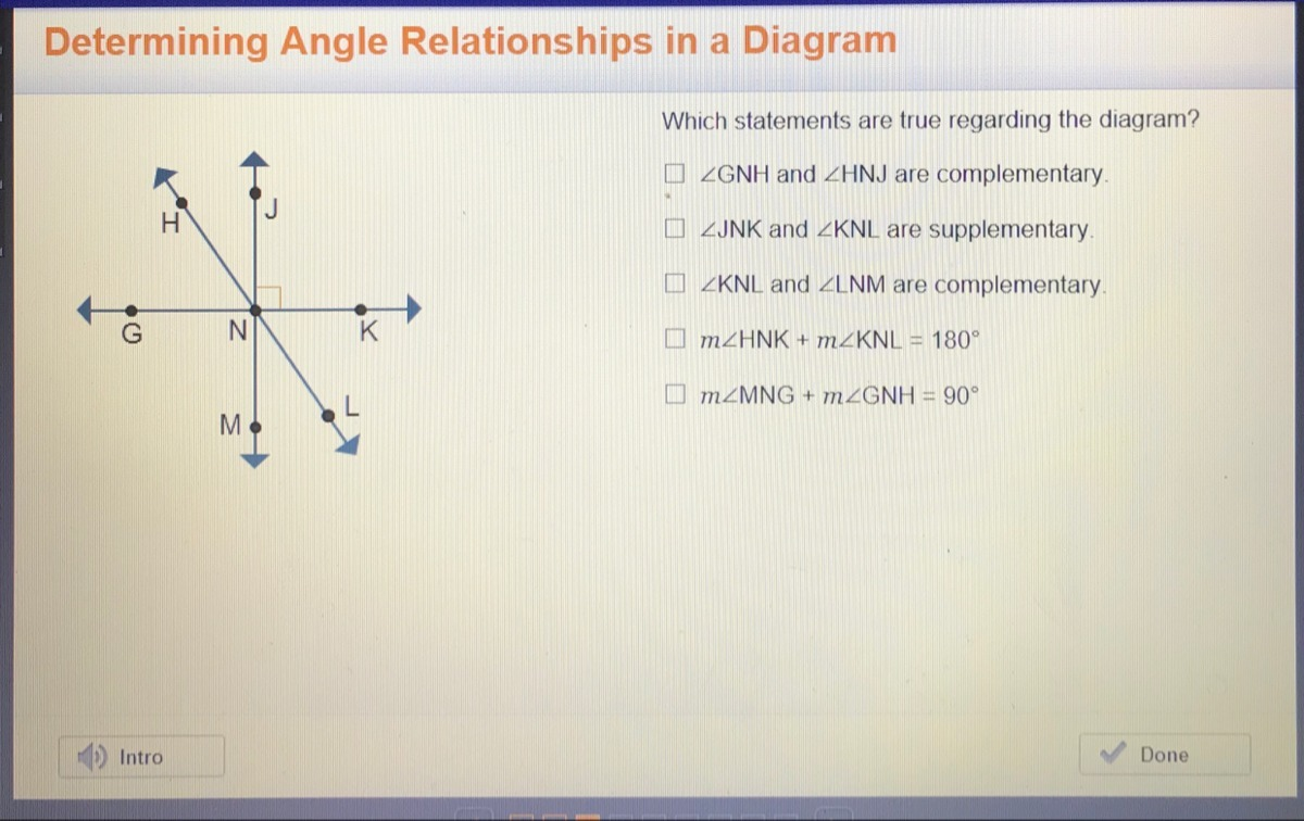 Which Statement Is True About The Diagram