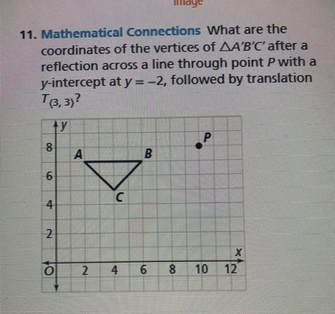 Help? What Are The Coordinates Of The Vertices Of Triangle
