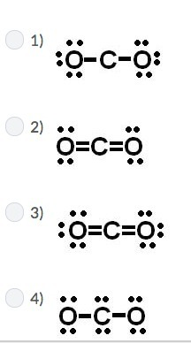 Carbon has four valence electrons, and oxygen has six ...