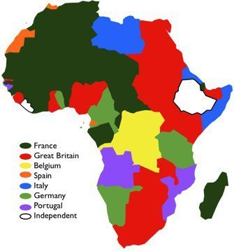 According To This Map Of Colonial Africa In 1914 The European
