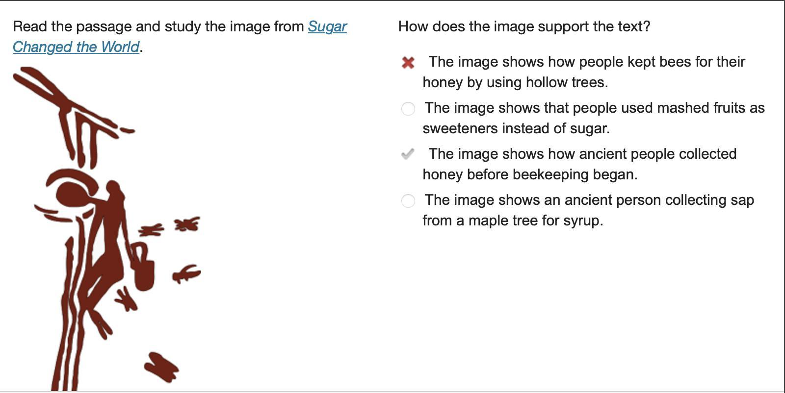 How does the image support the text? The image shows how ...