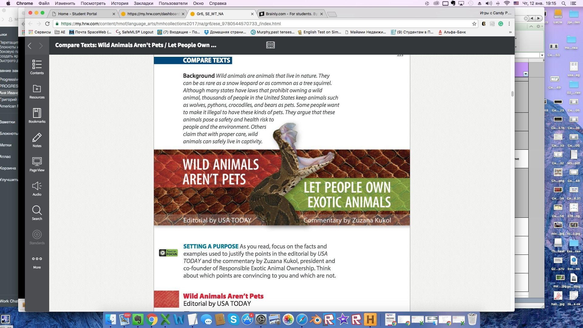 Animals help humans essay