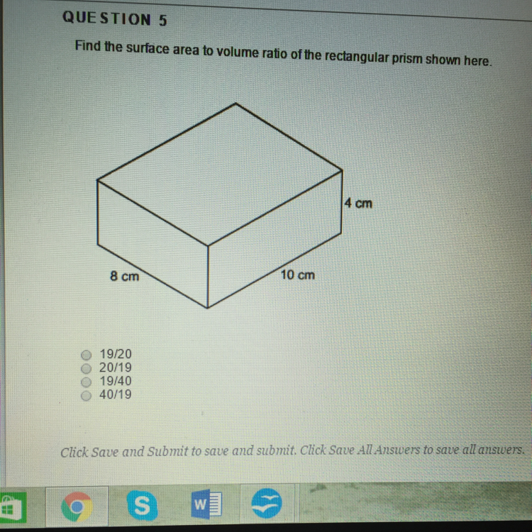 Find the surface area to volume ratio of the rectangular prism download png ccuart Images