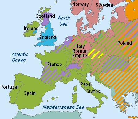 Map Of England Germany.During The Reformation Lutheranism Took A Firm Hold In Germany The