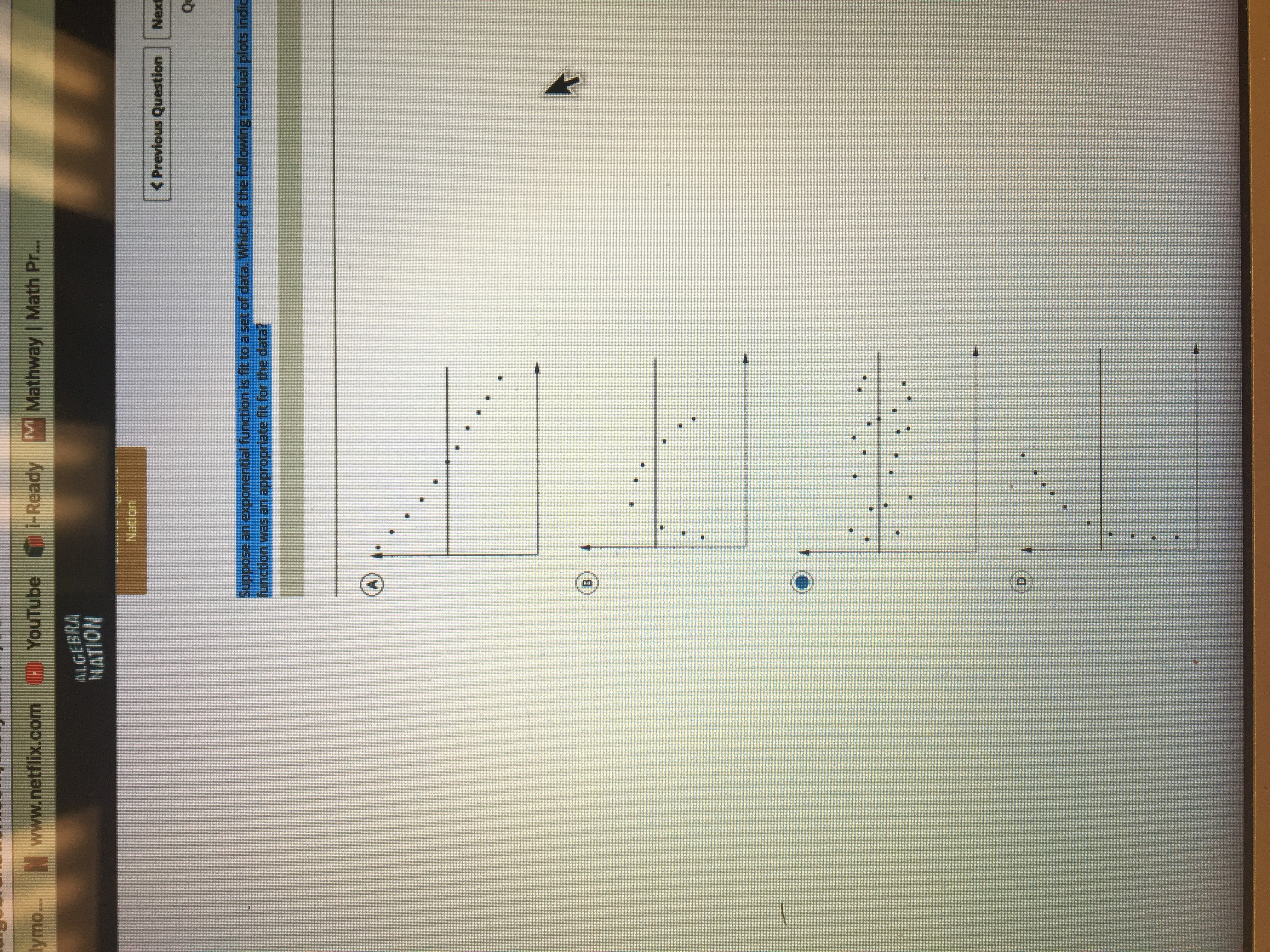 Suppose an exponential function is fit to a set of data ... on exponential vs. power, exponential equation, exponential derivatives, exponential table, exponential line, exponential transformation, exponential form, exponential model, exponential trend, exponential smoothing, exponential expression,
