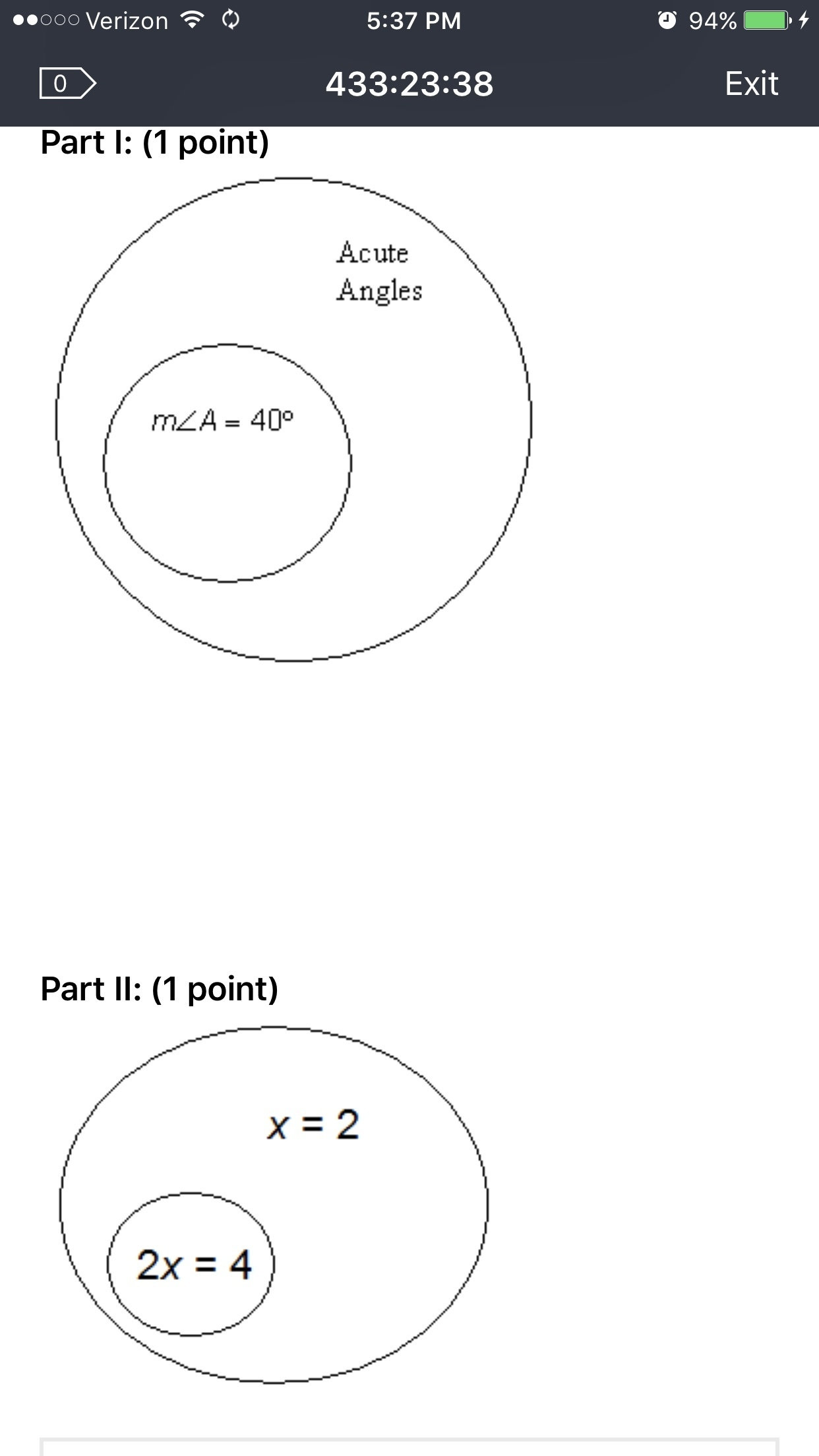 Write A Conditional Statement That Correctly Describes Each Venn