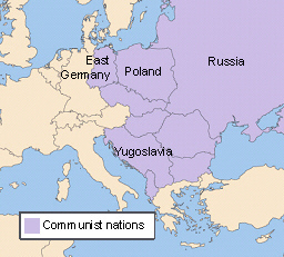 Look at the map of Europe after World War II. How did Poland change ...