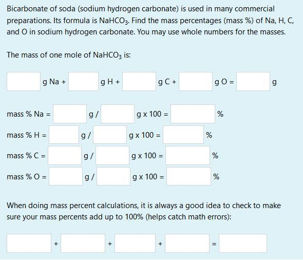 Try These Uses Of Sodium Hydrogen Carbonate Formula