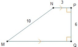 The diagram shows quadrilateral mnpq what is the length of line download png ask for details follow ccuart Images
