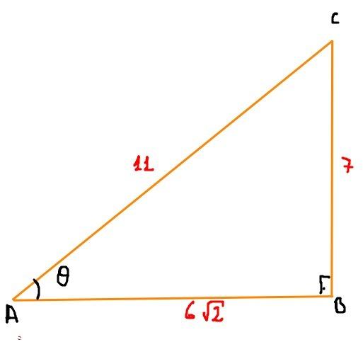 Given sin(theta)= 7/11 and sec(theta)
