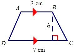 how to find area of trapezoid without height
