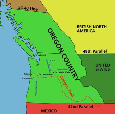How did this map change following the Treaty of Washington in 1846  Nd Parallel Map on 25th parallel north, 55th parallel map, 48 parallel map, 35th parallel south, 24th parallel map, 41st parallel map, 48th parallel map, 35th parallel map, 100th parallel map, 75th parallel north, 32nd parallel north, 38th parallel north, 10th parallel map, 22nd parallel map, 10th parallel north, 49 parallel map, 44th parallel map, 50th parallel north, 37 parallel map, 31st parallel map, 53rd parallel map, 49th parallel north, 5th parallel north, 5th parallel south, 45th parallel north, 37th parallel north, 32nd parallel map, 30th parallel map, 20th parallel map, 40th parallel north, 35th parallel north, 44th parallel north, 46th parallel north, 41st parallel north, 43rd parallel north, 17th parallel map, 23rd parallel map, 40th parallel south, 80th parallel south, 54th parallel map,