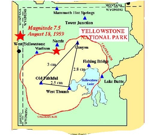 Jennifer has a map of Yellowstone National Park. The scale ...