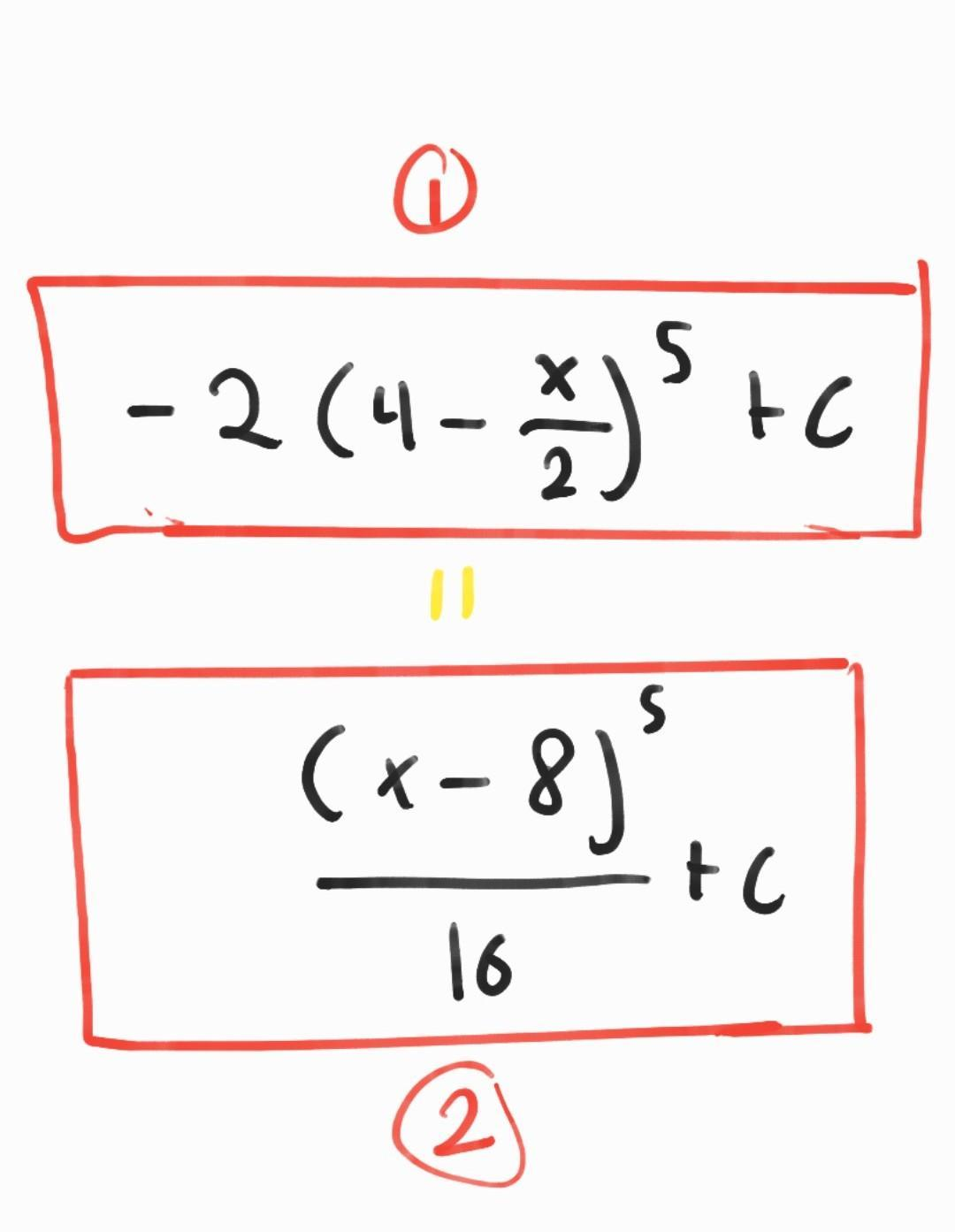📈How Can I Simplify/rewrite The 1st(top) Equation Into The  2nd(Botton),please Show A Step By Step - Brainly.com
