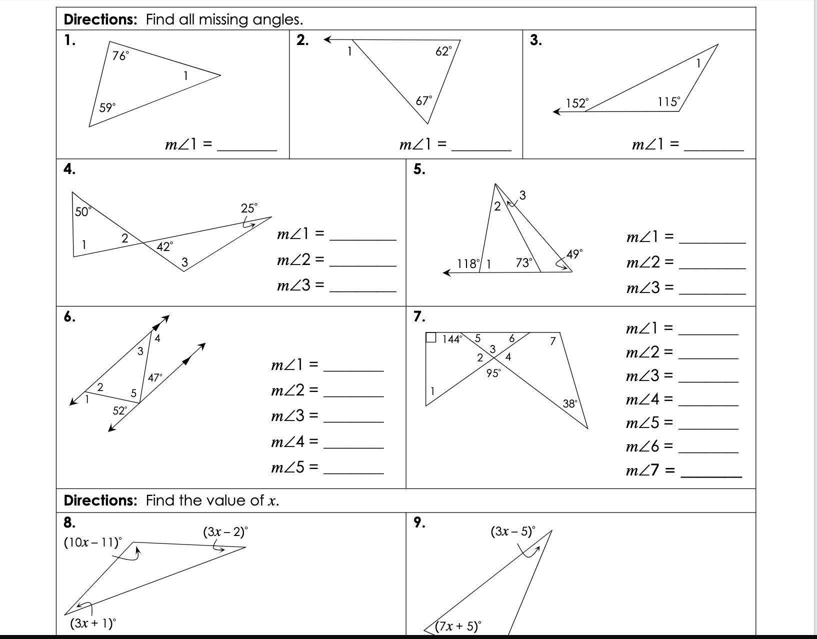Gina Wilson All Things Algebra Unit 4: Congruent Triangles ...
