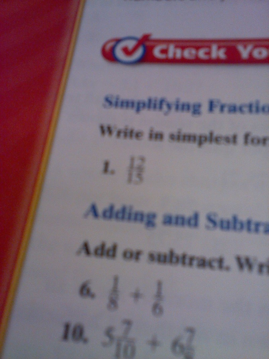 simplest form 12/15  how to write 7/7 in simplest form - Brainly.com