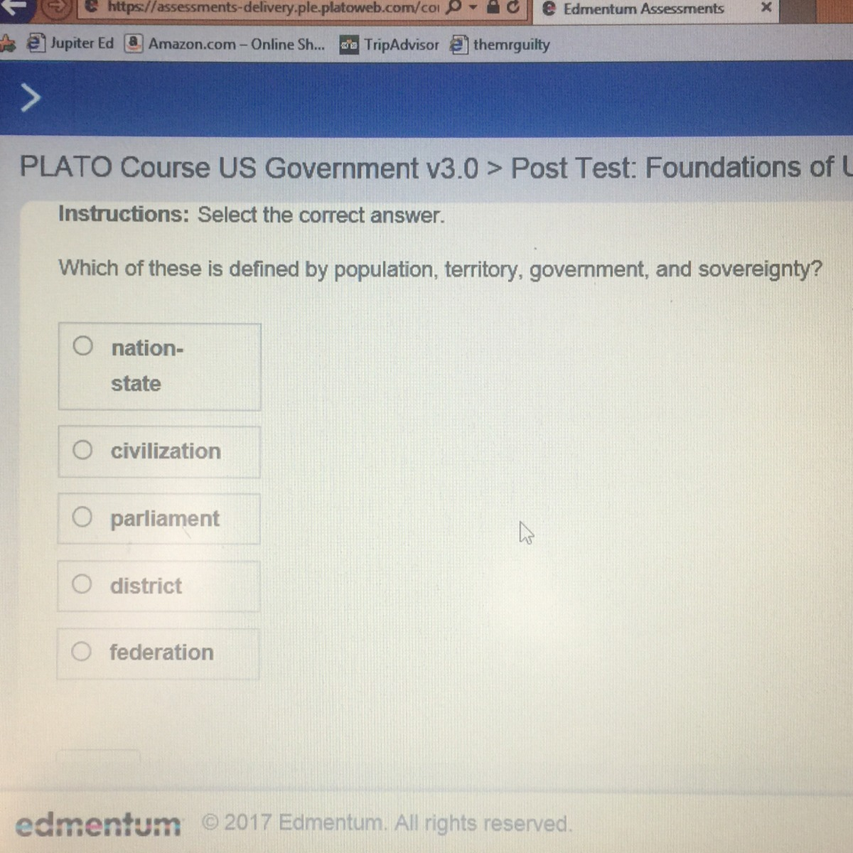 Ple platoweb answers us history array what is the answer for the government brainly com rh brainly com fandeluxe Images