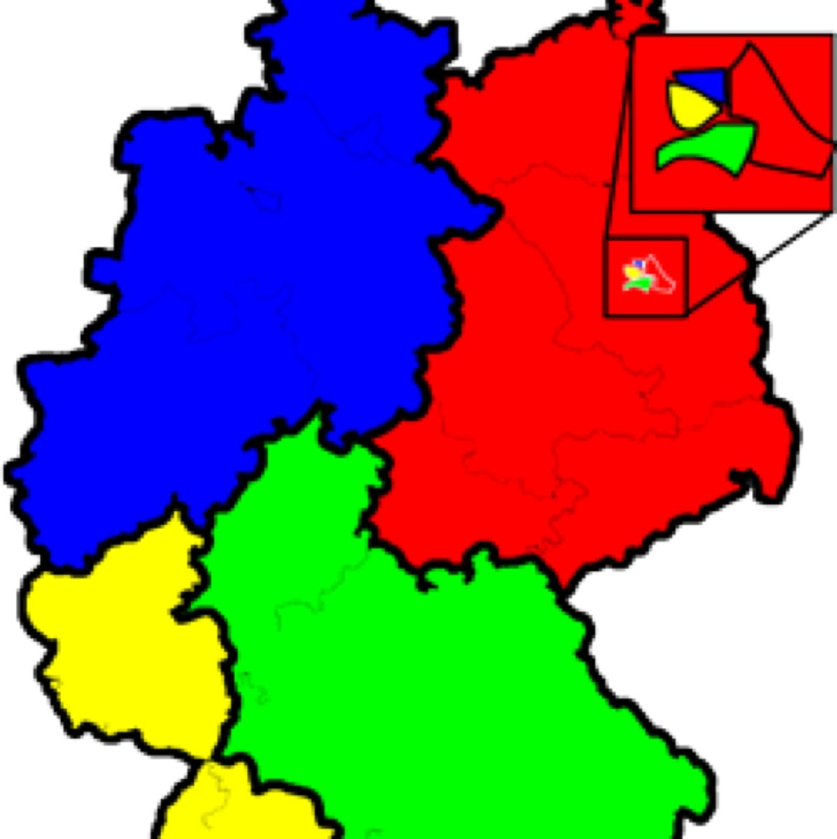 Map Of Germany In 1918.Map Of Germany Which Of These Is The Most Appropriate Title For This