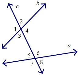 3 And 6 Form Which Type Of Angle Pair A Corresponding Angles B Alternate Interior Angles C