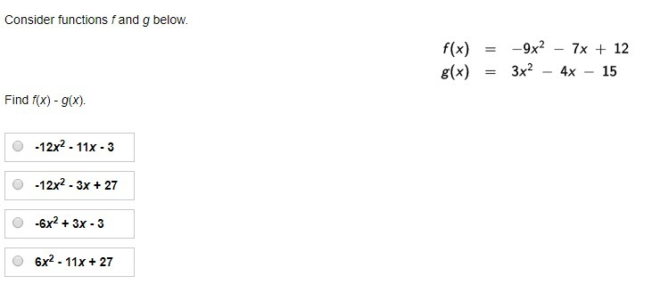Consider Functions F And G Below Brainly Com